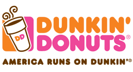 Dunkin Donuts Scroll